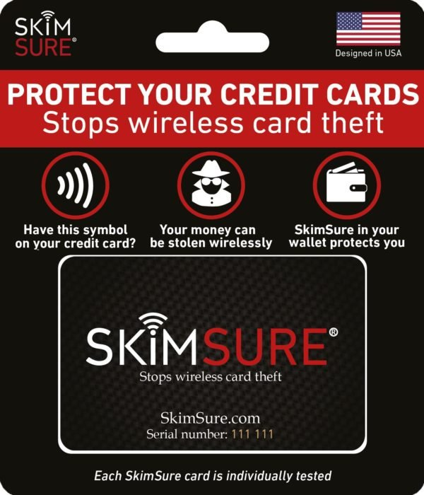 credit card protector package